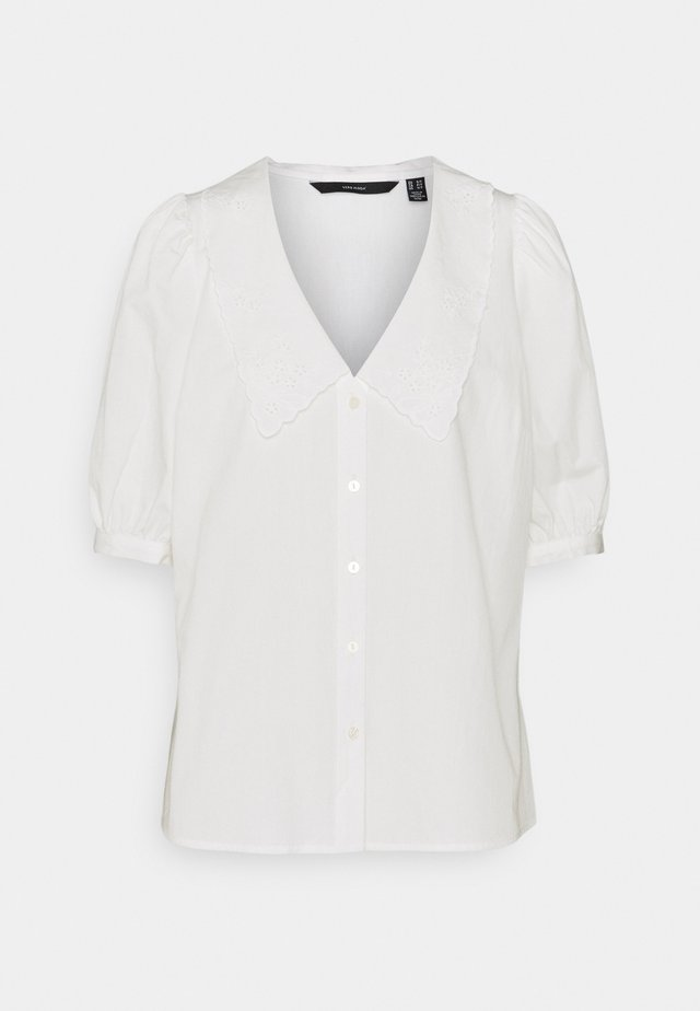 VMALLY COLLAR  - Button-down blouse - snow white