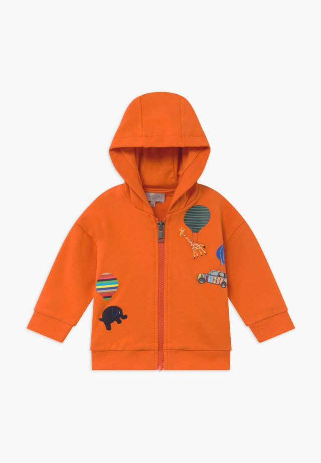 ARMAND - Zip-up hoodie - orangeade