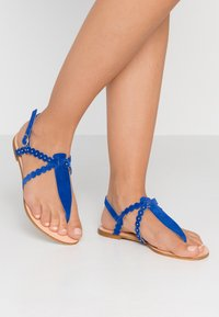 mint&berry - T-bar sandals - blue - 0