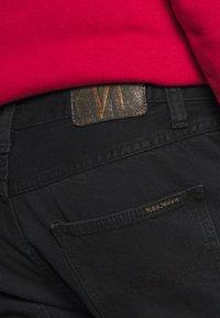 Nudie Jeans - GRITTY JACKSON - Džíny Straight Fit - black denim - 4