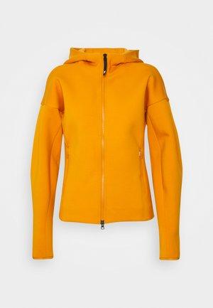 ZNE - Zip-up sweatshirt - focus orange
