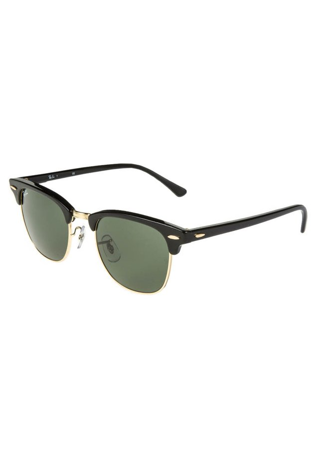 0RB3016 CLUBMASTER - Solglasögon - schwarz/goldfarben