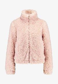 Dorothy Perkins - SHORT TEDDY COAT - Winter jacket - blush - 4