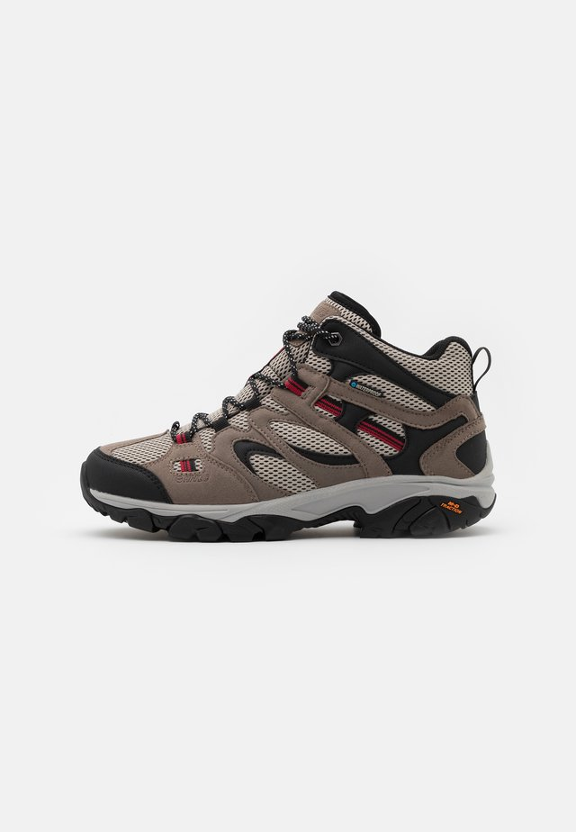 RAVUS VENT LITE MID WATERPROOF - Scarpa da hiking - cool grey/red/black
