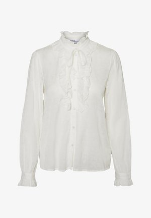 LANGÄRMELIGE - Button-down blouse - snow white
