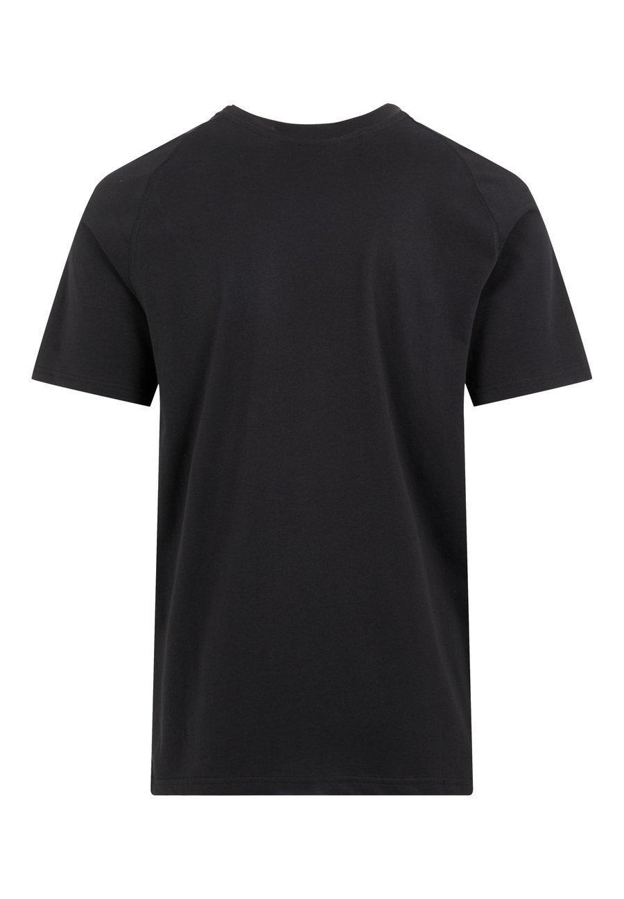 J.LINDEBERG KENNETH GRAPHIC COTTON - Print T-shirt - jl navy DFZMg