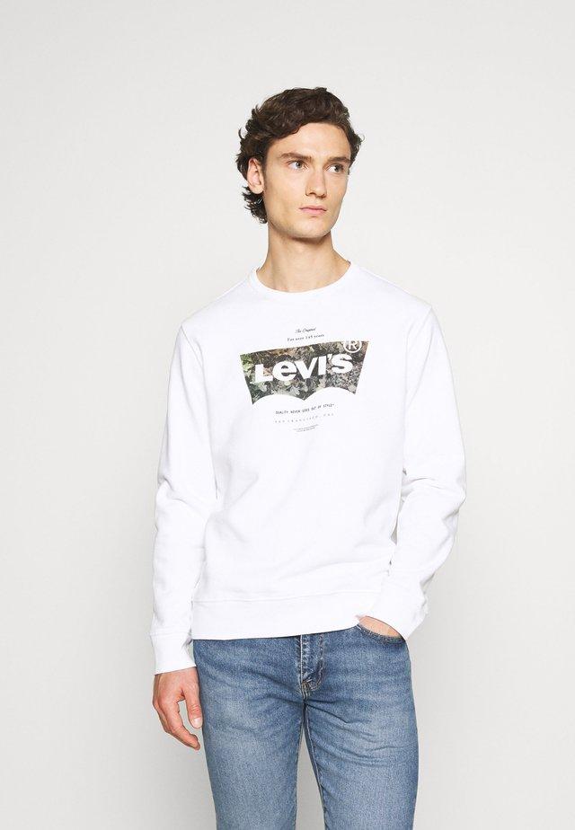 GRAPHIC CREW - Sweatshirt - white