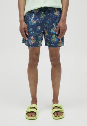 RICK & MORTY - Shorts da mare - dark blue