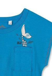 Sanetta Kidswear - KIDSWEAR - MERMAID - Print T-shirt - blau - 2