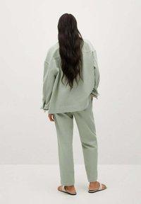 Mango - Pantalon classique - verde agua - 2