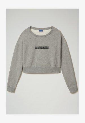 B-BOX CROPPED C - Sweatshirt - medium grey melange