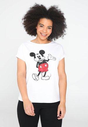 MIT MICKY-MAUS - T-shirt con stampa - white
