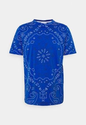 BANDANA - T-shirt print - blue