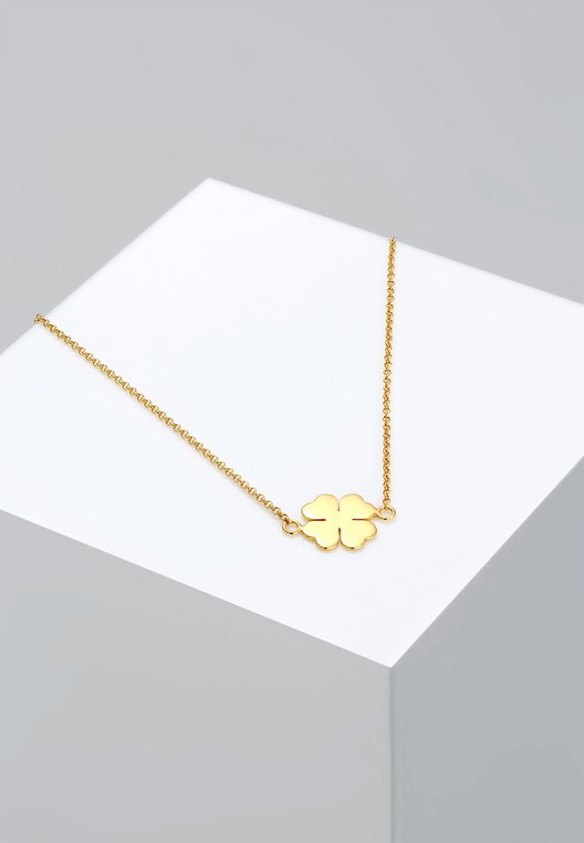 KLEEBLATT - Necklace - gold-coloured