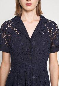 J.CREW - MAHALIA DRESS - Košilové šaty - navy - 7