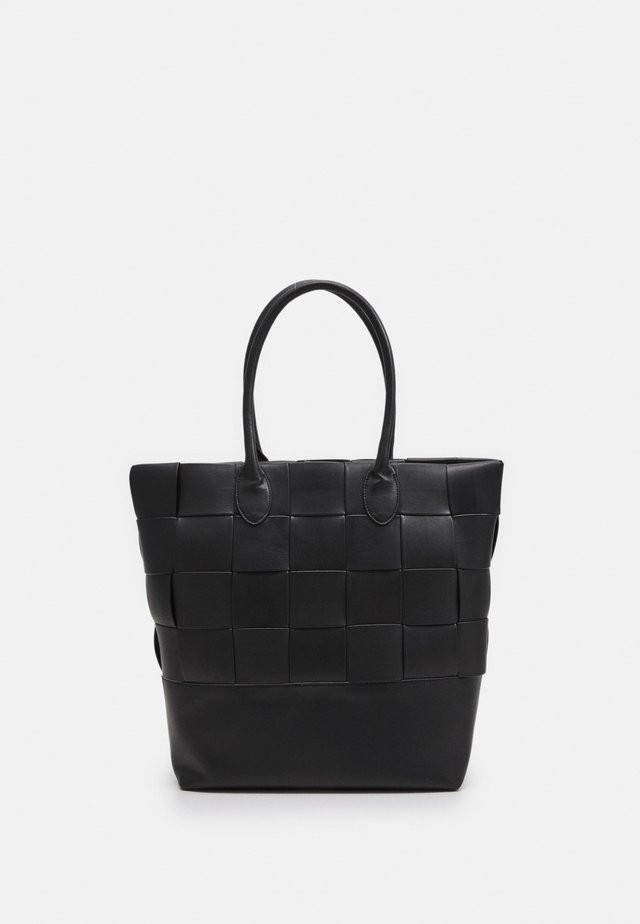 WEAVE - Tote bag - black