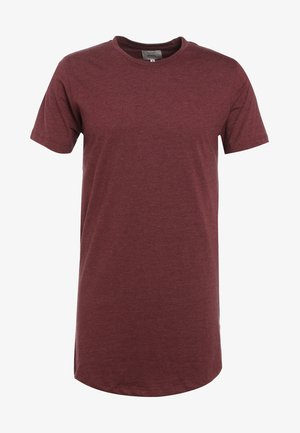 JAX - Basic T-shirt - bordeaux