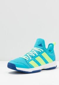 adidas Performance - STABIL - Handball shoes - turquoise - 2