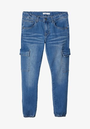 Vaqueros tapered - medium blue denim