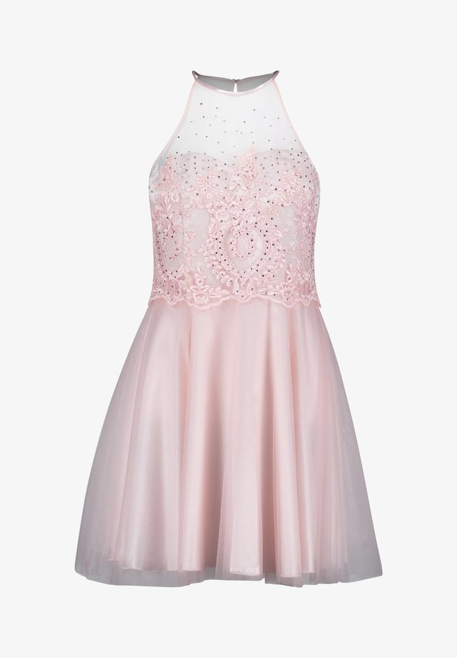 MIT STRASS - Cocktail dress / Party dress - pale rose