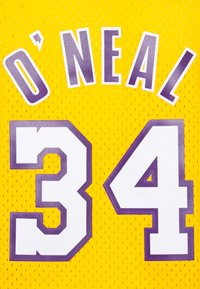 Mitchell & Ness - NBA LOS ANGELES LAKERS WOMENS SWINGMAN SHAQUILLE ONEAL  - Club wear - yellow - 6
