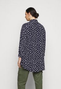 Evans - WITH HEART - Button-down blouse - navy - 2