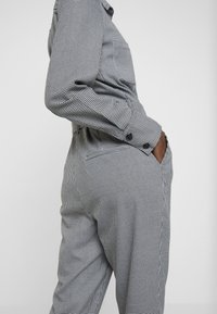 TOM TAILOR - OVERALL CASUAL CHECK - Overal - grey - 4