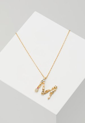 LETTER NECKLACE - Halskæder - gold-coloured