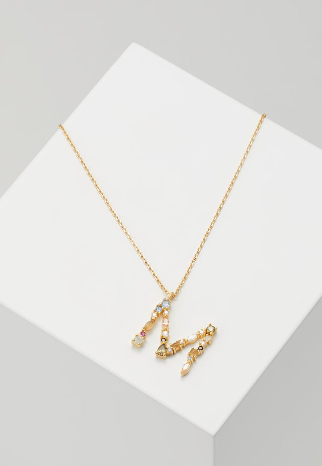 LETTER NECKLACE - Collana - gold-coloured
