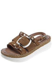 MJUS - Platform sandals - brown - 2