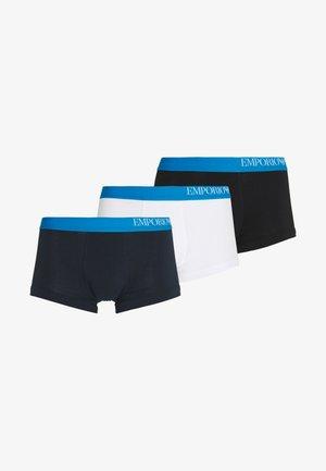 3 PACK TRUNK - Pants - bianco/nero/marine