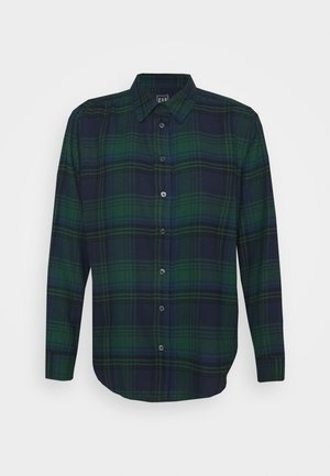 EVERYDAY - Button-down blouse - blackwatch plaid