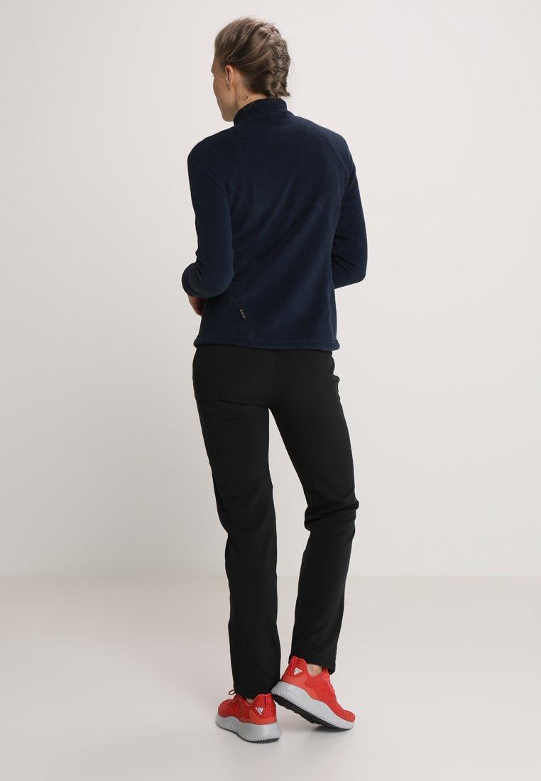 Jack Wolfskin ZENON PANTS WOMEN - Outdoor trousers - black 49RBO