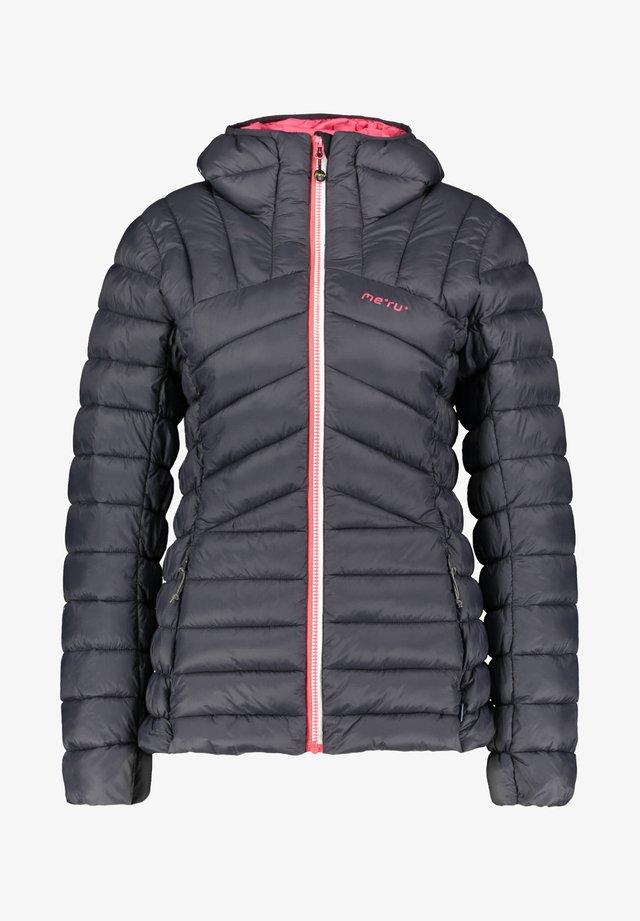 "MERU DAMEN STEPPJACKE ""HAWERA"" - Outdoor jacket - dunkelgrau (229)"
