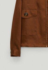 Massimo Dutti - Bomber Jacket - brown - 3