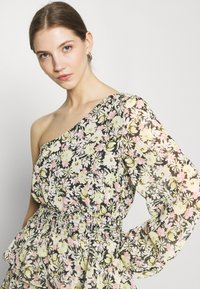 Gina Tricot - EXCLUSIVE MERIDIANDRESS - Cocktail dress / Party dress - black/multi-coloured - 3