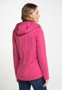 Schmuddelwedda - Outdoor jacket - dark pink - 2