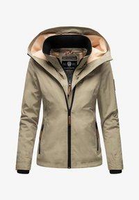 Marikoo - Light jacket - stone grey - 0