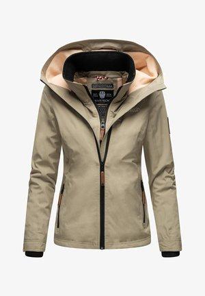 ERDBEERE - Outdoor jacket - stone grey