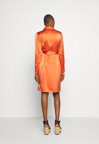Diane von Furstenberg - ZELLO - Shirt dress - burnt orange - 2