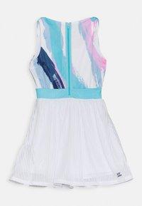 BIDI BADU - NIA TECH DRESS - Sportovní šaty - white/aqua - 1