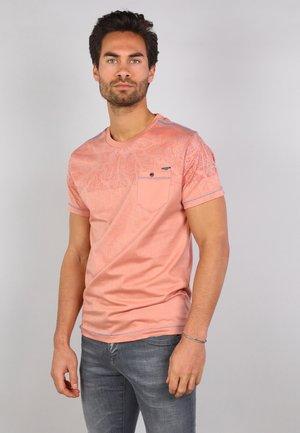 T-shirt print - dusty pink