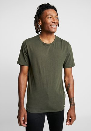 DELTA - Basic T-shirt - racing green