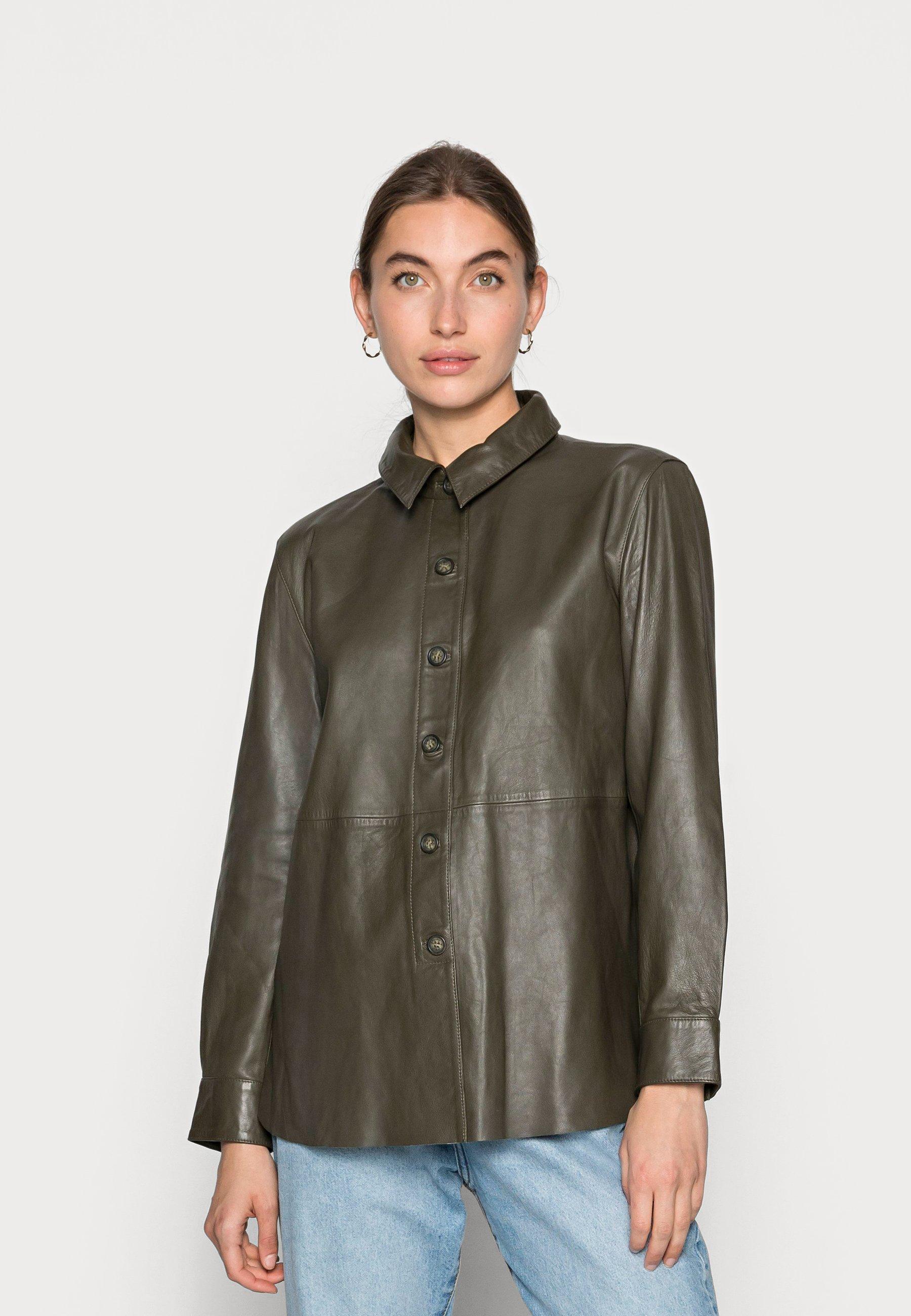 Women ANAISE  SHIRT - Leather jacket
