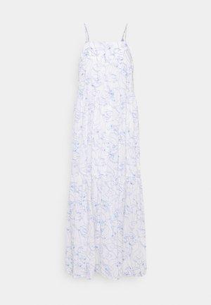DRESS STRAPS TIRED - Maxi dress - multi/scandinavian white