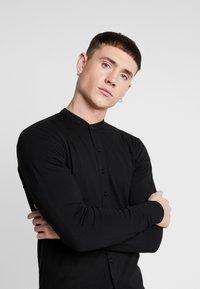 Nominal - HAMBURG GRANDAD - Shirt - black - 3