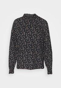 ONLY - ONLZILLE NAYA SMOCK - Long sleeved top - black/lavender - 4