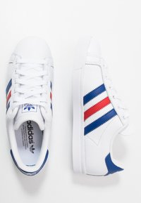 adidas Originals - COAST STAR - Sneakersy niskie - footwear white/collegiate royal/scarlet - 1