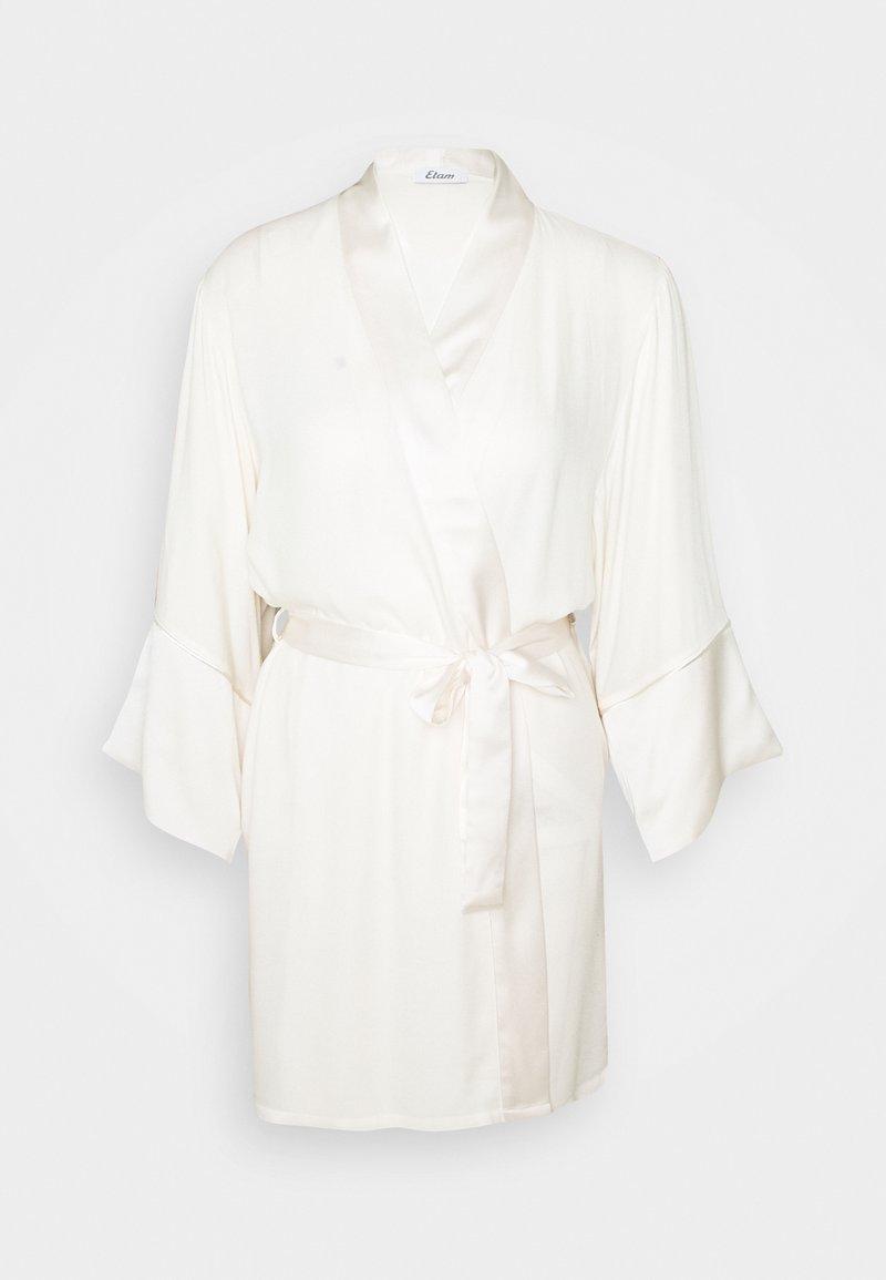 Etam - GIVERNY DESHABILLE - Dressing gown - ecru