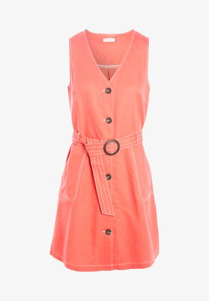 MIT KNÖPFEN - Shirt dress - rose